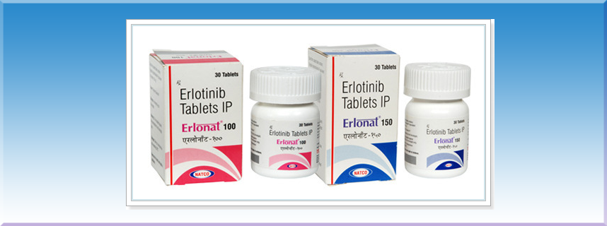Buy Erlonat 100 mg & 150 mg Erlotinib Tablets @Lowest Price From India